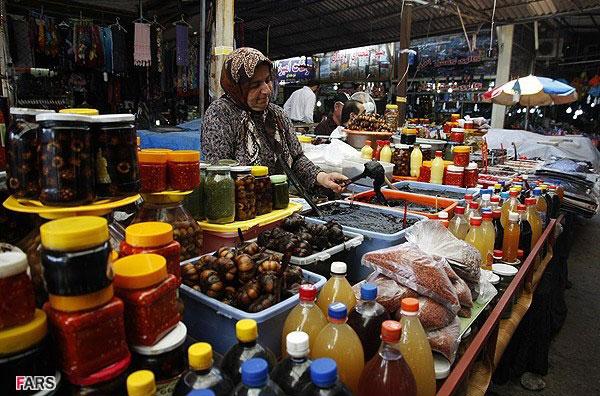 بازار محلی مازندران