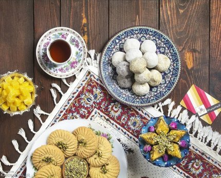 شیرینی های کاشان | Photo by : Unknown