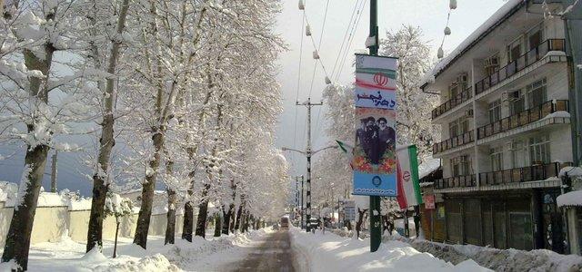چالوس در زمستان | Photo by : Hossein Zalnezhad