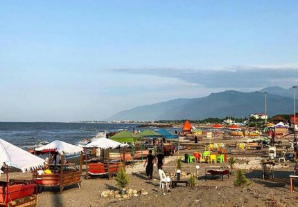 ساحل چالوس | Photo by : Unknown