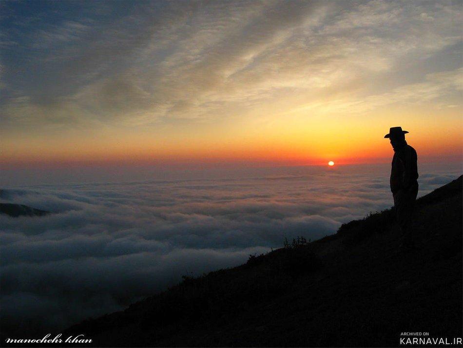 بر فراز ابرهای جواهرده | Photo by : manochehr khan
