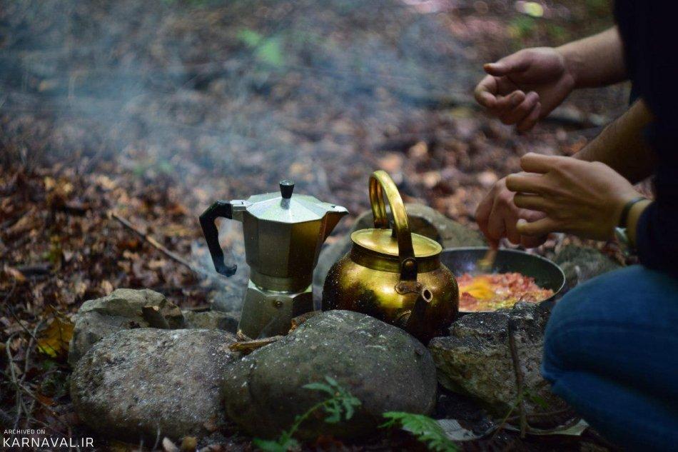 پیک نیک در جنگل راش | Photo by : Hasti Farhangi