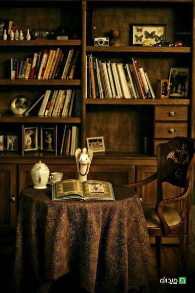 فضای کتابخانه در دکوراسیون خانه