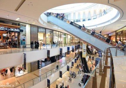 داخل مرکز خرید دبی مال | Photo by : Unknown