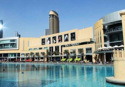 نمای خارجی مرکز خرید دبی مال | Photo by : Unknown