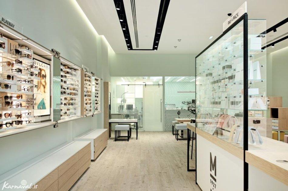 فروشگاه عینک در دبی مال | Photo by : Unknown