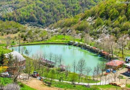 دریاچه قو رامسر | Photo by : Unknown