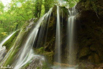 آبشار جنگل راش   Photo by : Zeynab Shirazi   Karnaval
