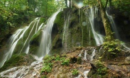 آبشار جنگل راش | Photo by : Zeynab Shirazi | Karnaval