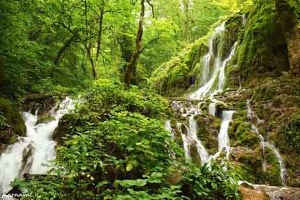 آبشارهای بولا | Photo by : Zeynab Shirazi | Karnaval