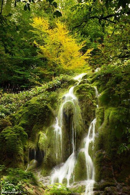 آبشار بولا جنگل راش | Photo by : Zeynab Shirazi | Karnaval