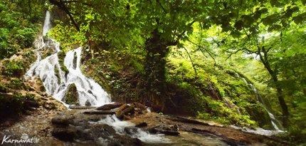 آبشار بولا جنگل سنگده | Photo by : Zeynab Shirazi | Karnaval