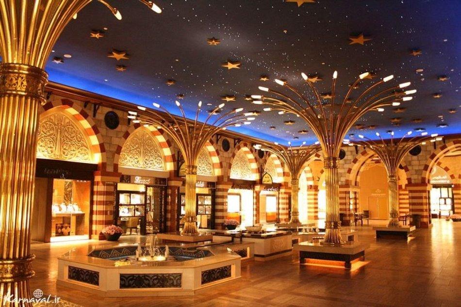 بازار طلا دبی مال | Photo by : Unknown