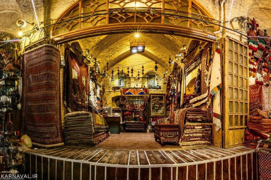 قالی فروشی شیراز | Photo by : Siavash