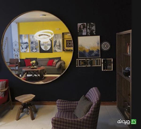 آینه در جدید دکوراسیون منزل