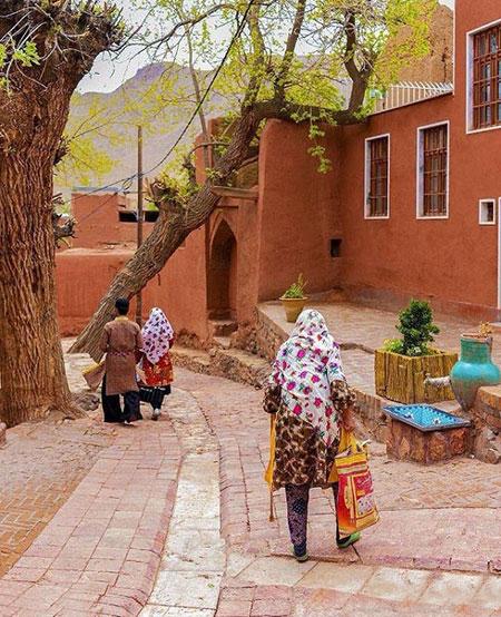 روستای ابیانه، تلفیقی از تاریخ و معماری!