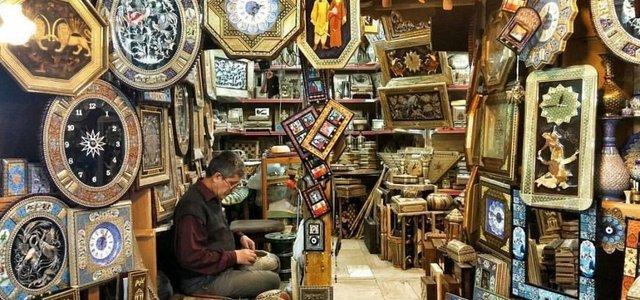 صنایع خاتم بازار وکیل | Photo by : Unknown