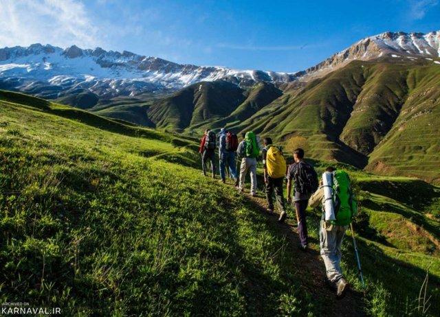 صعود به پاشوره | Photo by : Unknown