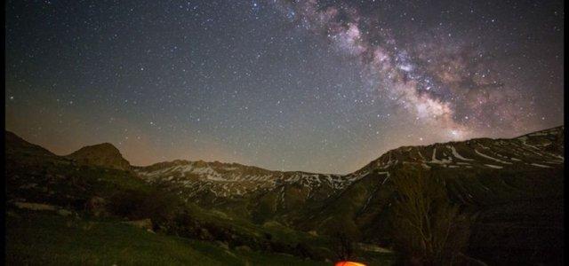 کهکشان راه شیری دشت آزو | Photo by : Unknown