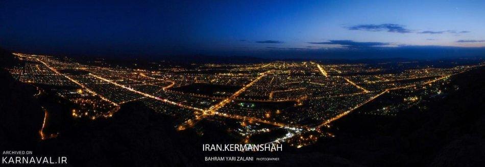 شهر کرمانشاه | Photo by : Unknown