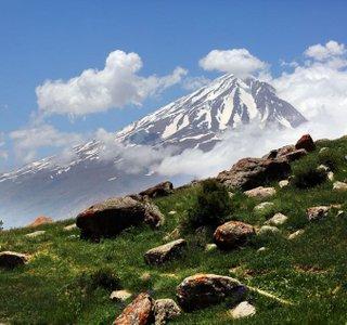 نمای دماوند از دشت آزو | Photo by : ُSeyyed Vahid Hosseini | MIZAN