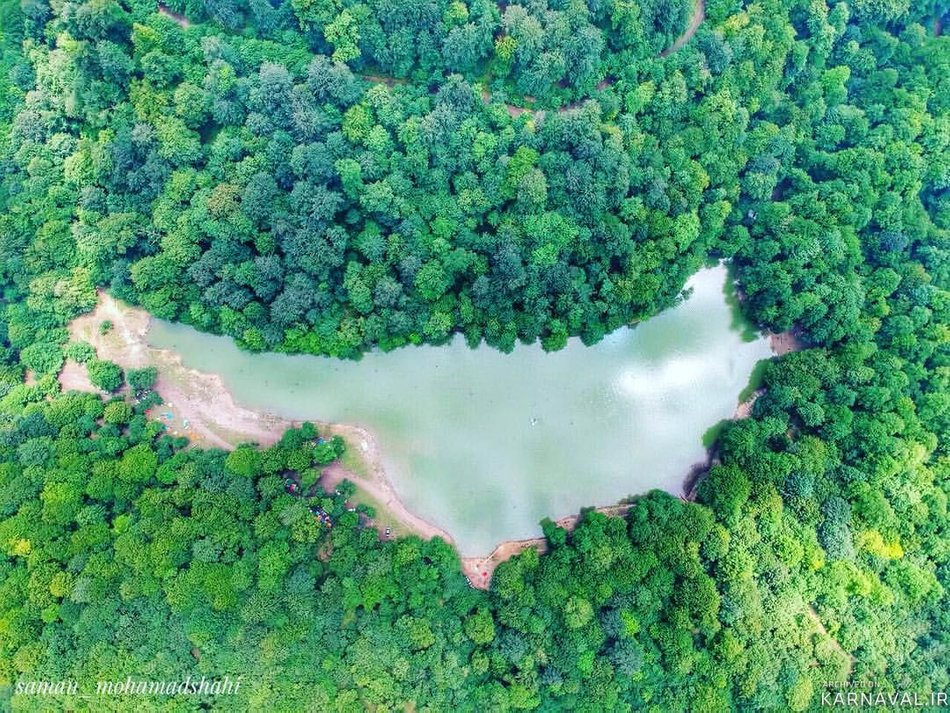دریاچه میانشه | Photo by : Unknown