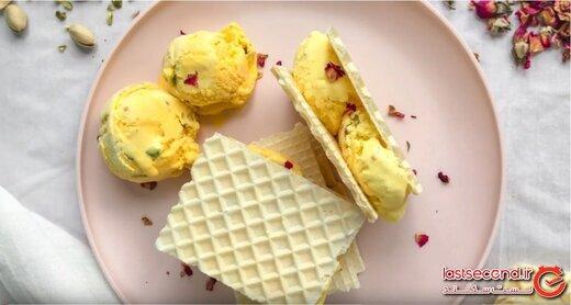 بستنی سنتی ایران، در میان ۱۰ تا از برترین دسرهای یخی دنیا