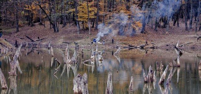 دریاچه چورت | Photo by : Gholamreza Rezaei Aghoozgalle | IRNA