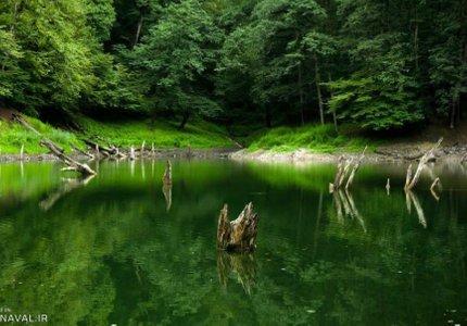 دریاچه چورت | Photo by : Hamzeh Karbasi