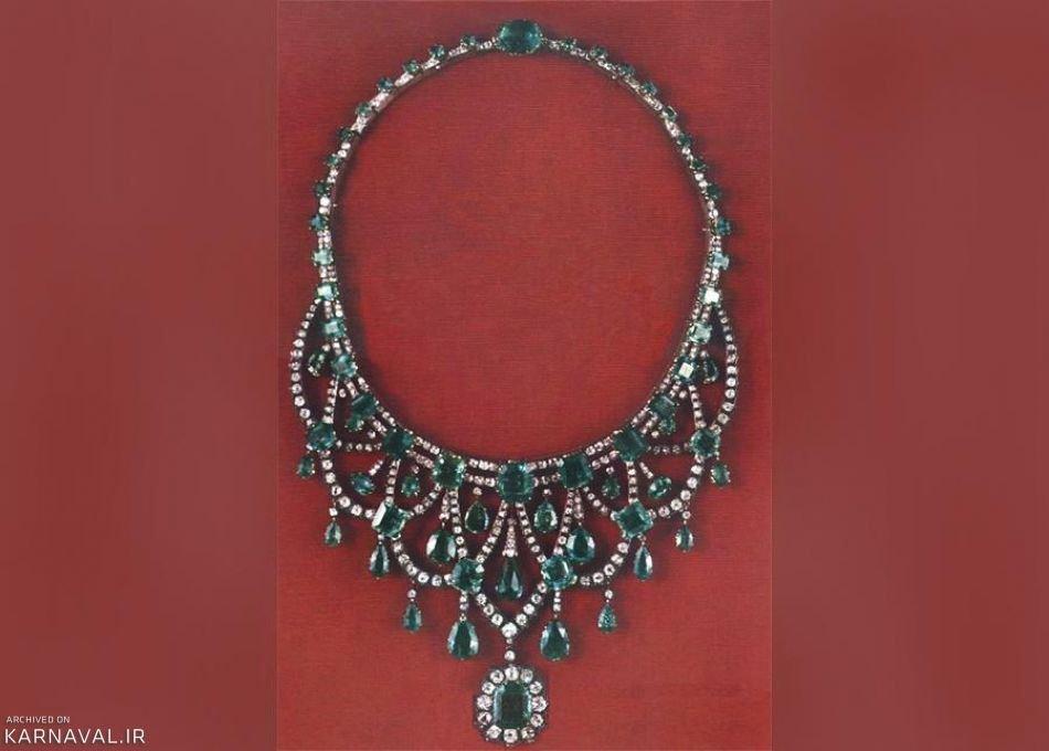 گردنبند الماس و زمرد | Photo by : Unknown