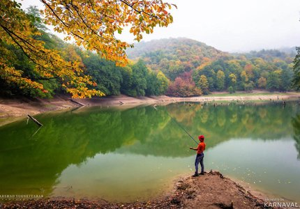 ماهیگیری در دریاچه چورت | Photo by : Farshad Youseftabar