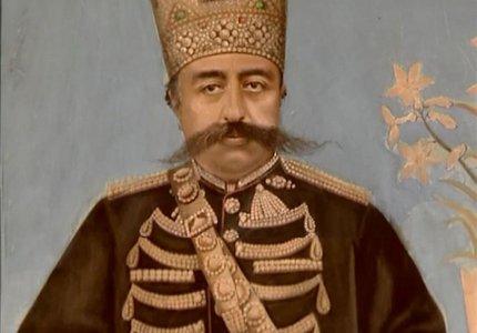 الماس دریای نور بر روی کلاه مظفرالدین شاه | Photo by : Unknown