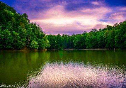 دریاچه چورت | Photo by : Hamid Sandani