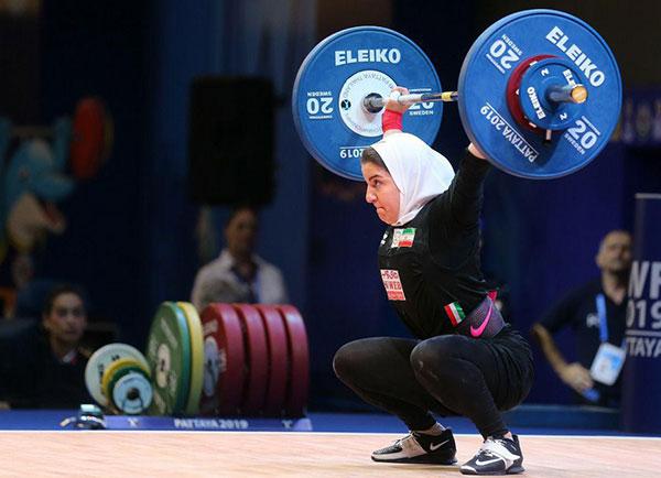 پوپک بسامی؛ اولین وزنهبردار زن ایرانی