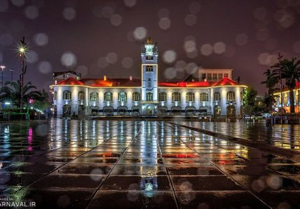 میدان شهرداری رشت | Photo by : Mohammad Ranjbar | Tasnim