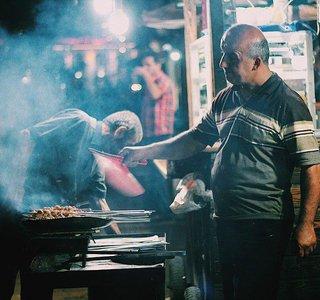 شکم گردی در رشت | Photo by : Unknown