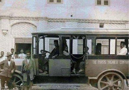 اولین اتوبوس شهری | Photo by : Meysam Gilvanejad