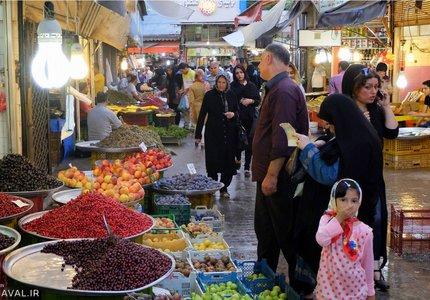 بازار رشت | Photo by : Unknown