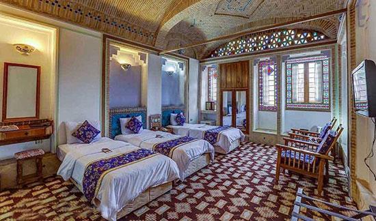 ۱۰ خانه - هتل سنتی و قدیمی شگفت انگیز ایرانی