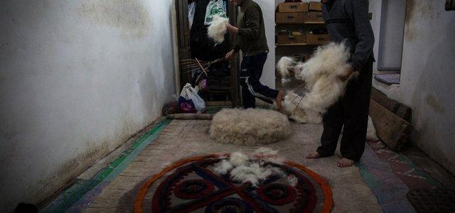 کارگاه نمدمالی در جواهرده رامسر | Photo by : Amir Ali Razzaghi | MEHR