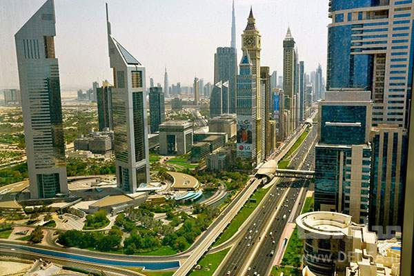 بزرگراه شیخ زائذ خاورمیانه