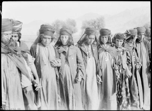 عکس قدیمی از قوم لر | Photo by : Unknown