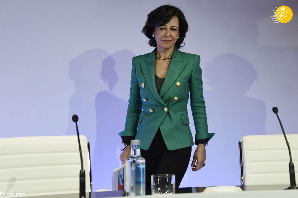 آنا بوتین مدیر عامل بانک سانتاندر اسپنیش