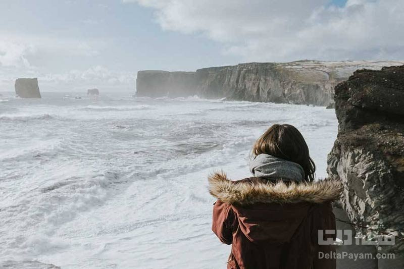 جهانگردان زن در ایسلند