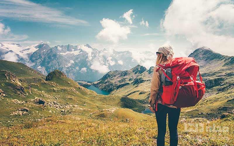جهانگردان زن در سوئیس